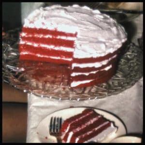 Mom's Red Velvet Cake